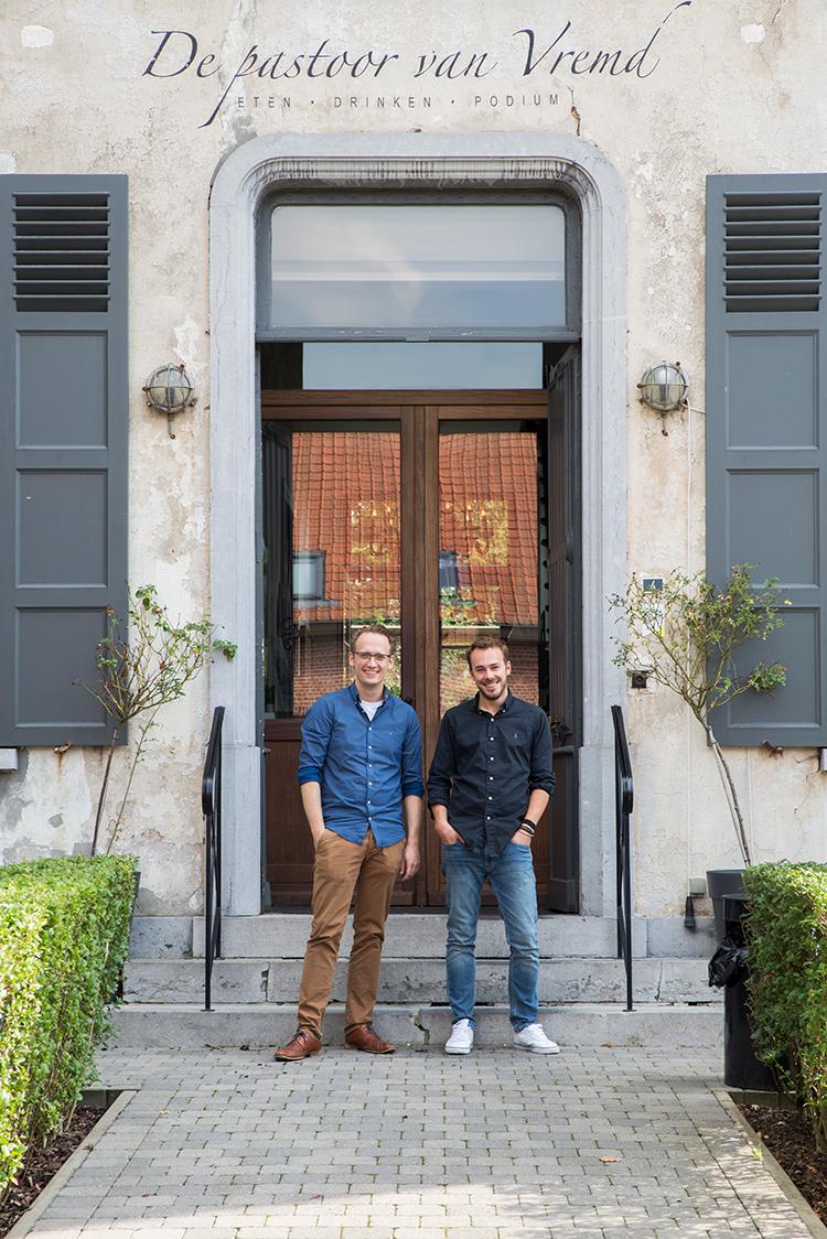 de pastoor van vremd restaurant brasserie Vremde Boechout Tom en Filip